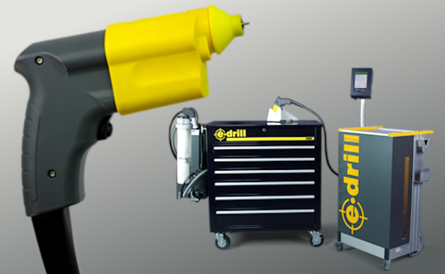 E-drill: Faster, Safer, Better Fastener Removal | Aviation Products
