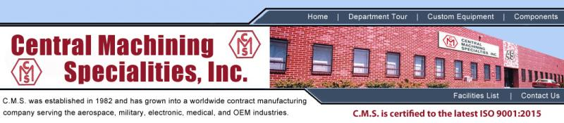 Central Machining Specialties, Inc.