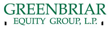 Greenbriar Equity Group, LLC