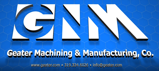 Geater Machining and Manufacturing Co logo