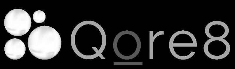 Qore8 logo