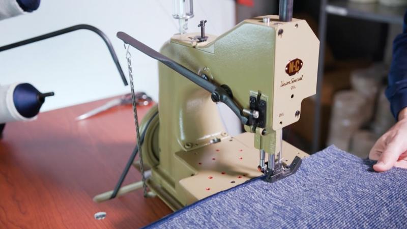NC Launches New Sewing Machine @ MRO2018