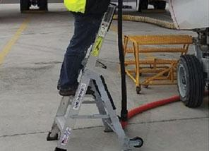 ERGONOMIC SAFETY LADDERS FOR MRO SERVICE