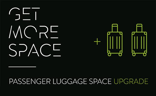facc passenger luggage space upgrade