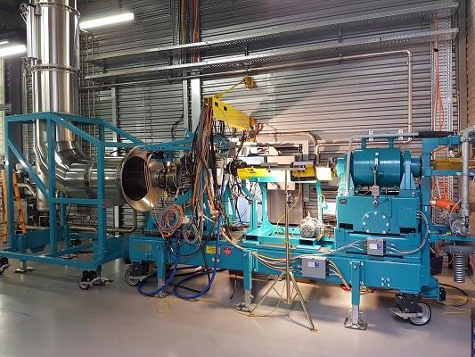 Aircraft engine test cells