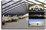 Custom Fabric Aircraft Hangars and Aviation Storage