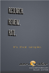 RESEARCH. REVIEW. RATE.