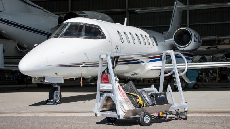 Aviation Chock Trolley