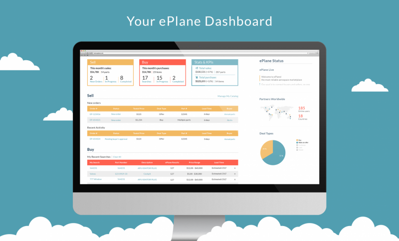 Your ePlane Dashboard