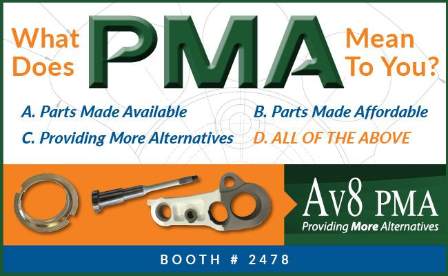 The New Definition Of PMA - Parts Made Available
