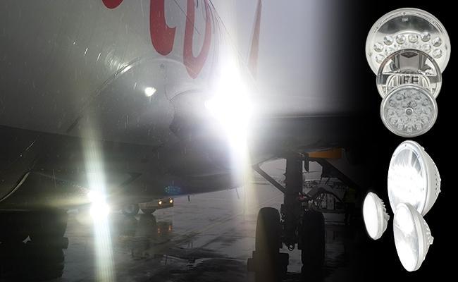 LED Landing/Taxi/Logo Lights: Plug & Play with PMA