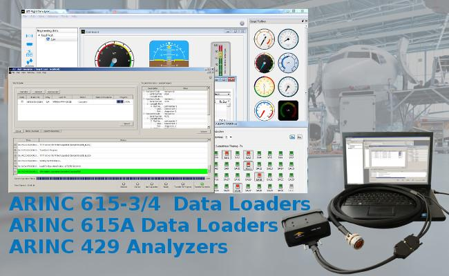 Easy-to-Use ARINC 615/615A Software Data Loaders