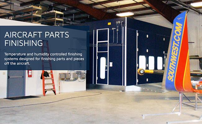 Aircraft Hangar Paint Booths