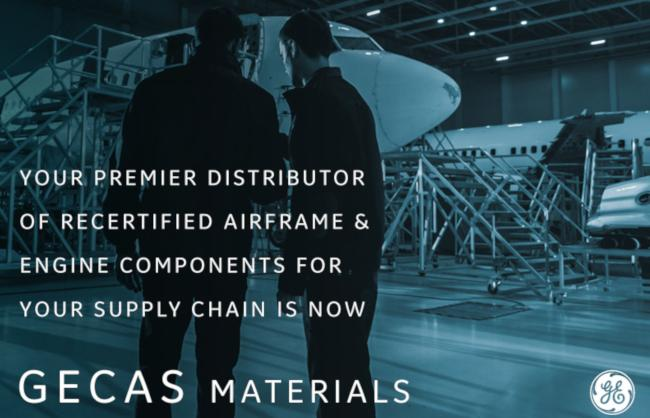 GECAS Materials distributes recertified airframe and engine components for your supply chain.