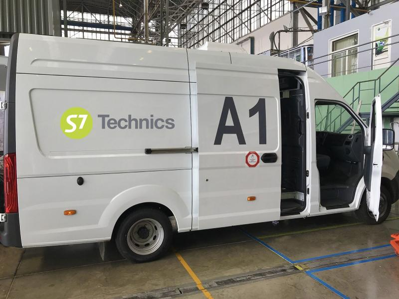S7 Technics operates five specialized KitCar mobile MRO warehouses.