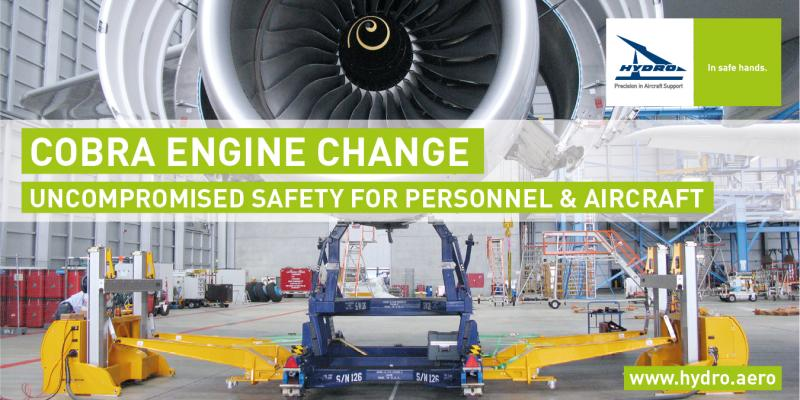 HYDRO COBRA Engine Change System