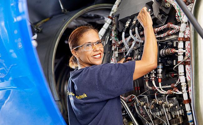 Lufthansa Technik Aircraft Maintenance