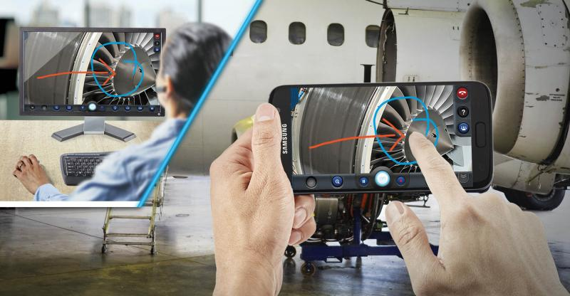 Digitize the worker's day with AR, IoT & video