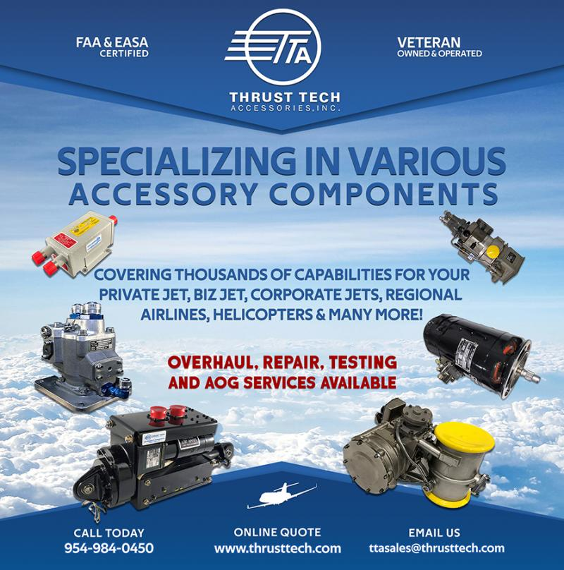 Thrust Tech Accessories MRO Components