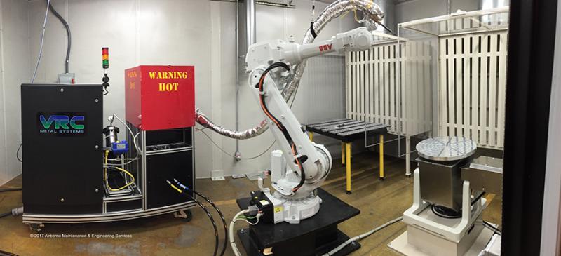 VRC Metal Systems Cold Spray System