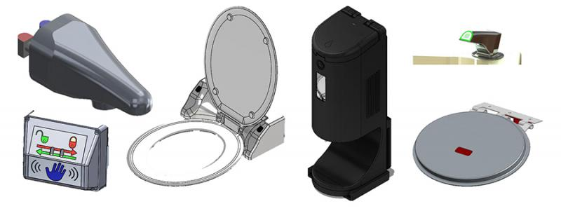 Adams-Rite Touchfree Lavatory