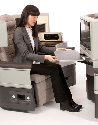 Recaro Aircraft Seating offers seats with a special antibacterial coating.