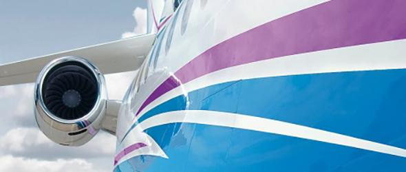 RUAG Business Aviation Painting