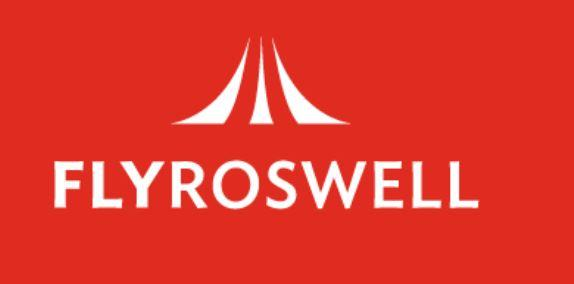 Fly Roswell logo