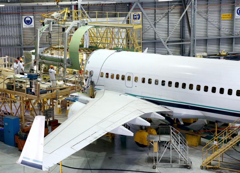 IAI BEDEK Passenger to Cargo Conversion – 737-700 BDSF