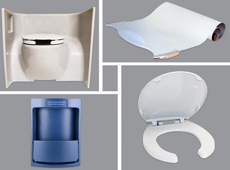 Aereos Interior Solutions Antimicrobial Parts