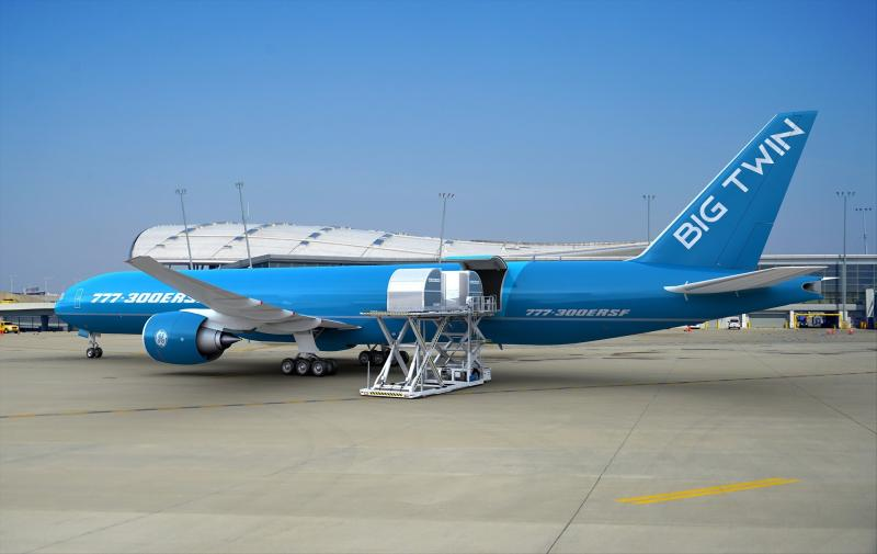 IAI BEDEK Passenger to Cargo Conversion – The Big Twin B-777-300ERSF