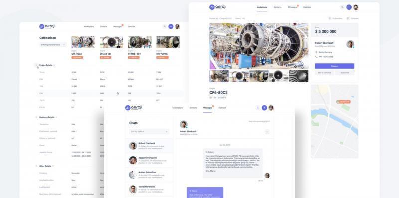 Aeroji Aero-Engines Social Marketplace