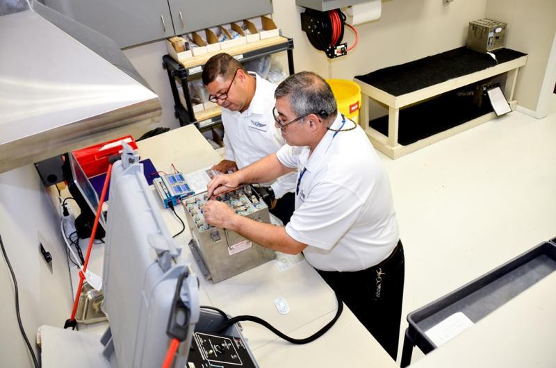 Sky Aerospace Engineering Battery Shop