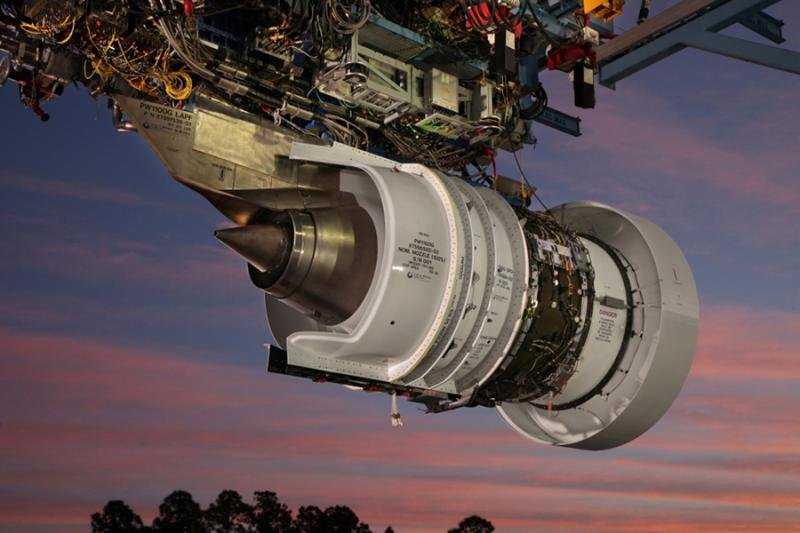 Pratt & Whitney Ground Test Nacelle Division