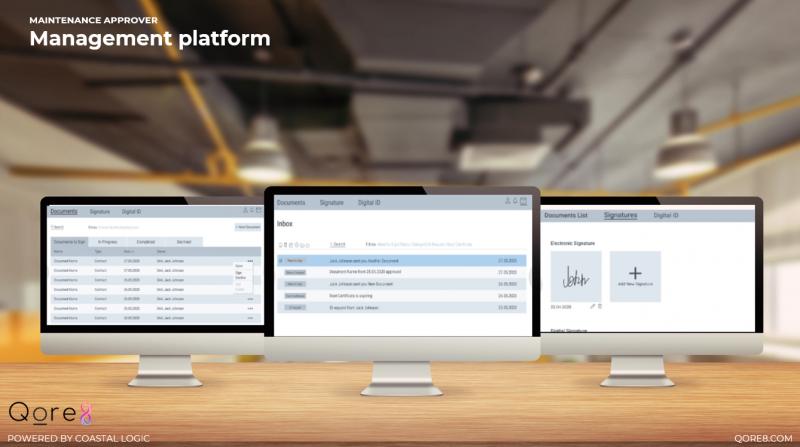 qoreTransmit Management Platform