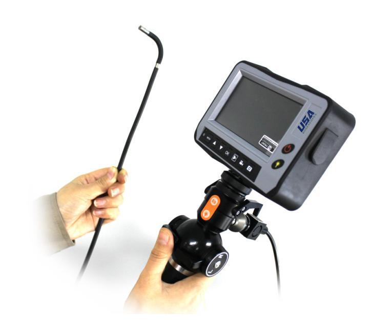 USA Borescopes USAVS4-4-1500 Articulating Videoscope