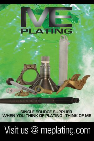 ME Plating - Your Single Source Supplier of: