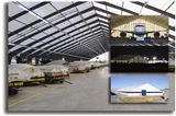 Custom Fabric Aircraft Hangars and Aviation Storage