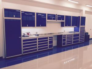 Aluminum Cabinet Systems and Tool Boxes