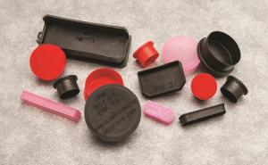PMI, caps/plugs and custom molded products.