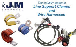 Leader in Line Support Clamps and Wire Harnesses