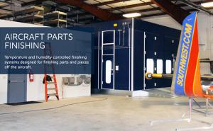 Aircraft Hangar Paint Booths