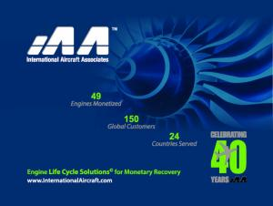 Commercial Jet Engines Life Cycle Solutions