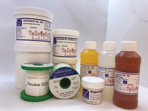 Superior Flux & Mfg. Co. brazing, soldering, welding flux products
