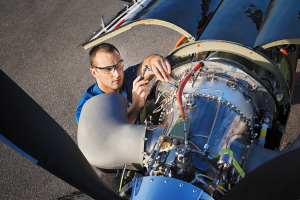 Technicians on Dallas Airmotive's F1RST SUPPORT field service team can be dispatched to an aircraft operator's location within hours.