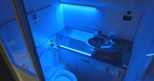 The Boeing Clean Cabin Fresh Lavatory