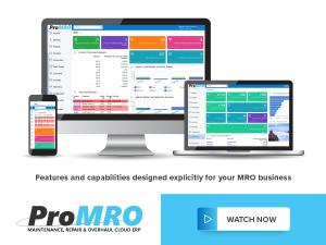 ProMRO Cloud ERP