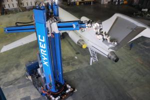 Xyrec Laser Coating Removal Robot