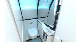 Collins Aerospace Touchless Lavatories