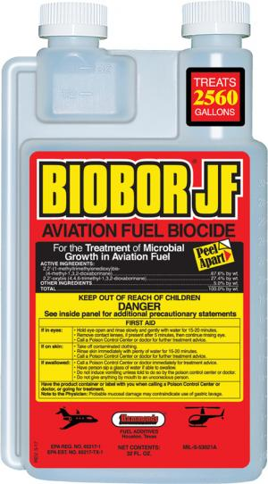 Biobor JF Aviation Fuel Biocide